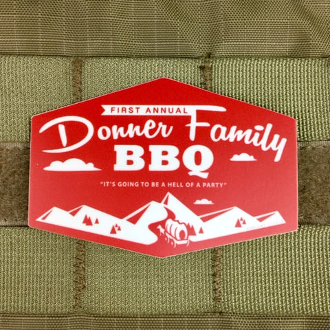 Donner Family BBQ Sticker