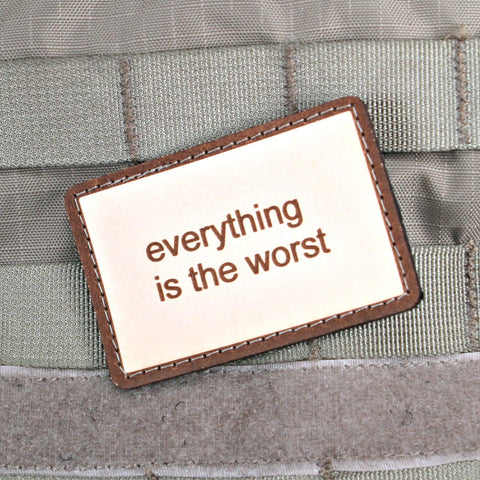 Everything Is The Worst Morale Patch (Limited)