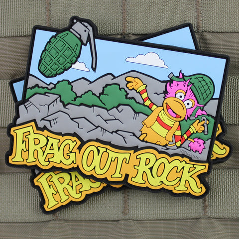 Frag Out Rock Morale Patch