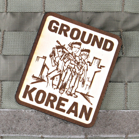 Ground Korean Limited Edition Series Morale Patch