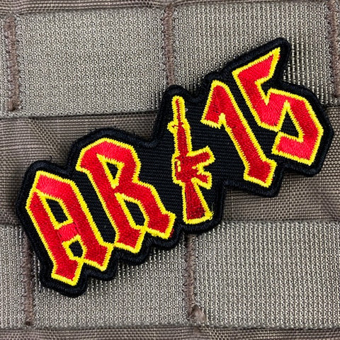 "AR-15 ""Thunderstruck"" Morale Patch"