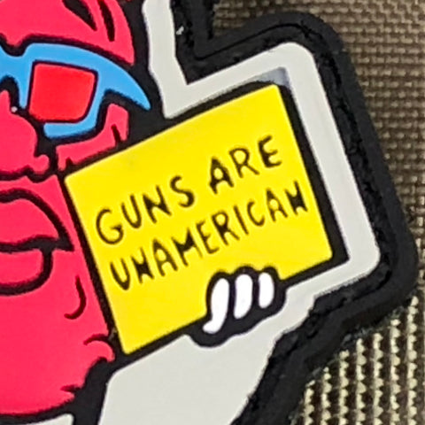 The California Raisins Morale Patch