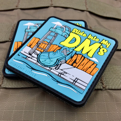 Slide Into My DM's Morale Patch