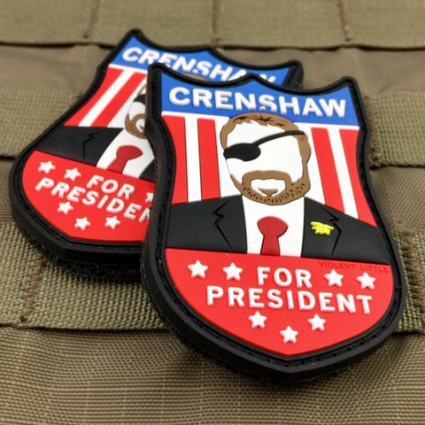 """Crenshaw For President"" Morale Patch"