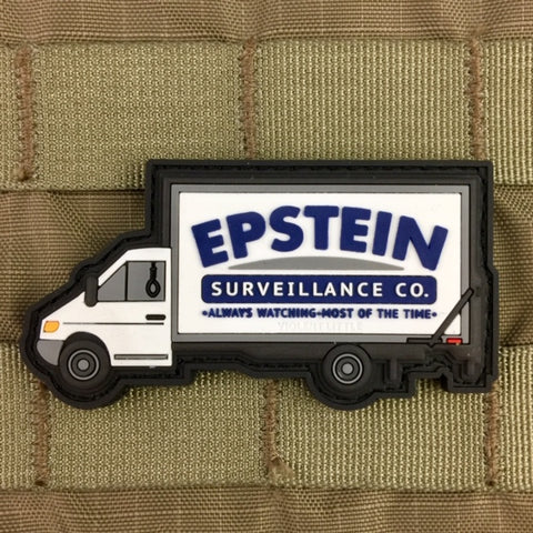 """Epstein Surveillance Co."" Morale Patch"