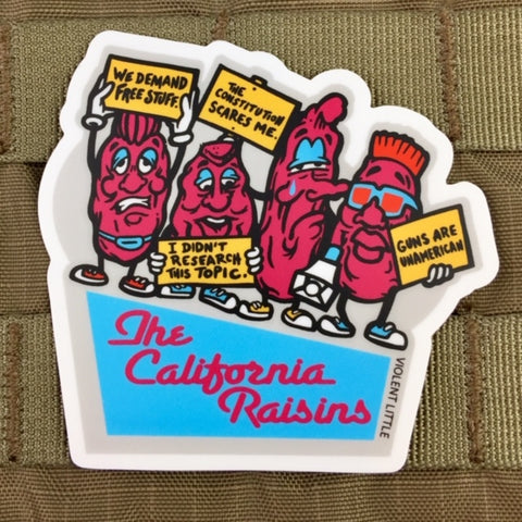 The California Raisins Sticker