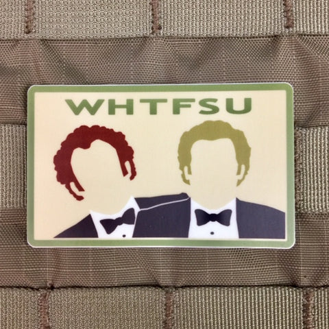 WHTFSU Stepbrothers Sticker