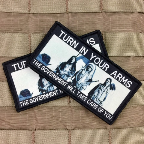 """Turn In Your Arms"" Morale Patch"