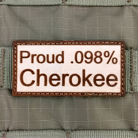 """Proud .098% Cherokee"" Morale Patch"