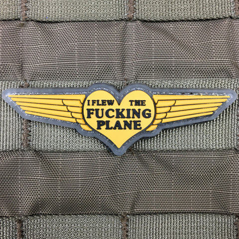 I Flew The Fucking Plane Morale Patch