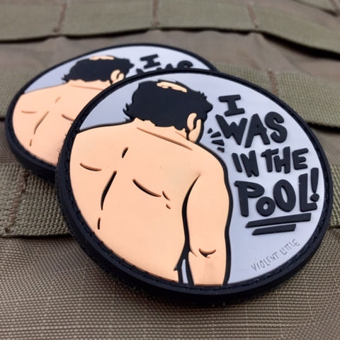 """I Was In The Pool"" Shrinkage Morale Patch"