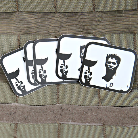 Iceman Top Gun Volleyball Sticker