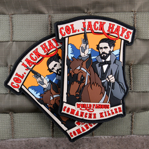 jack hays morale patches