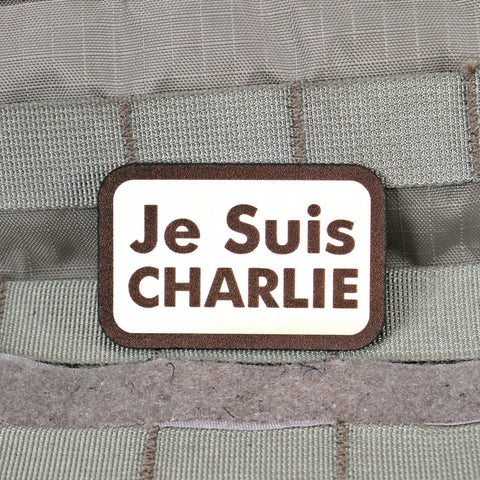 Je Suis Charlie Tribute Patch