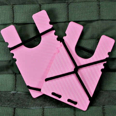 Kydex Shock Wallet - Pink Carbon Fiber