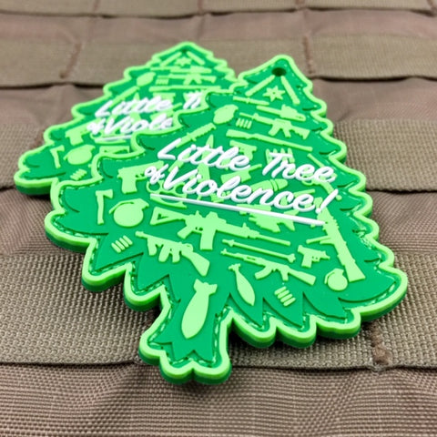 Little Tree Of Violence Christmas Morale Patch