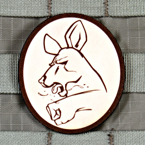 """Punch a Kangaroo"" Morale Patch"