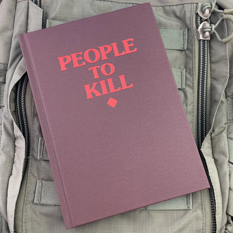 People to Kill Notebook (5 colors)