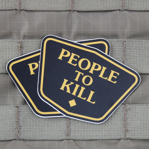 People to Kill Sticker