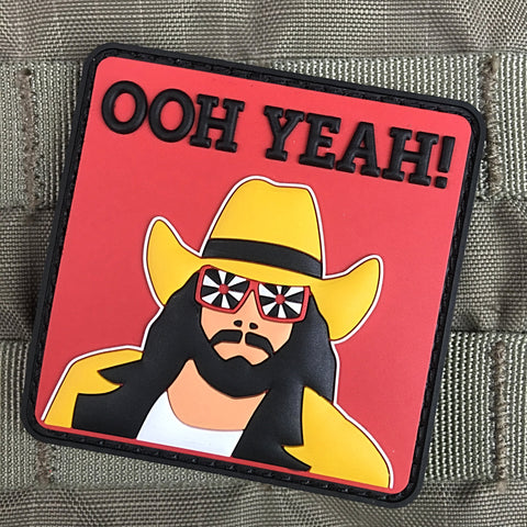"Macho Man ""OOH YEAH!"" Morale Patch"