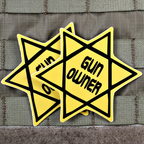 Gun Owner Sticker