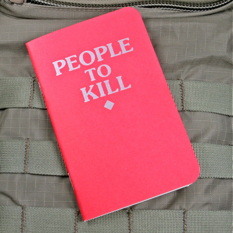 People To Kill Memo Books