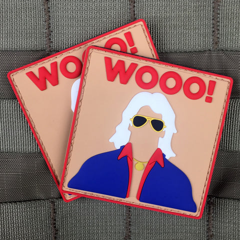 "Ric Flair ""WOOO!"" Morale Patch"