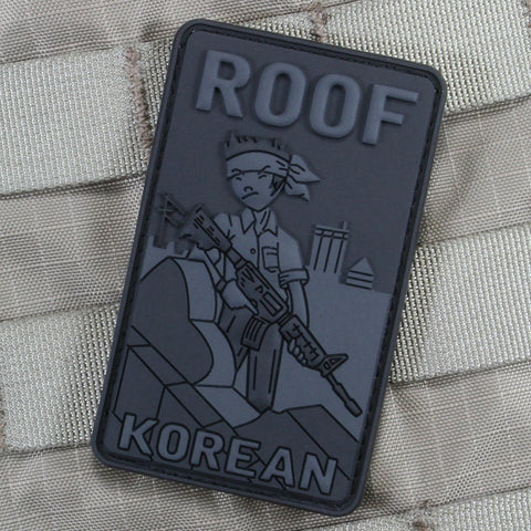 Roof Korean Color Morale Patch