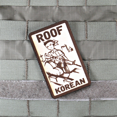 Roof Korean Limited Edtion Morale Patch