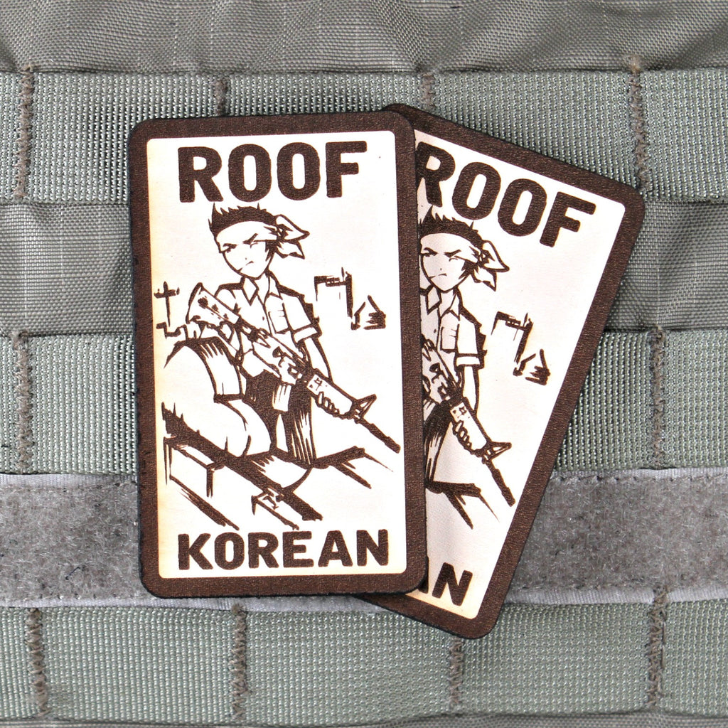 Roof Korean Limited Edtion Morale Patch Violent Little