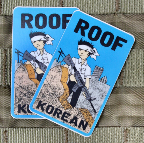 Roof Korean Sticker