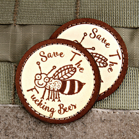 Save The Fucking Bees Limited Edition Morale Patch