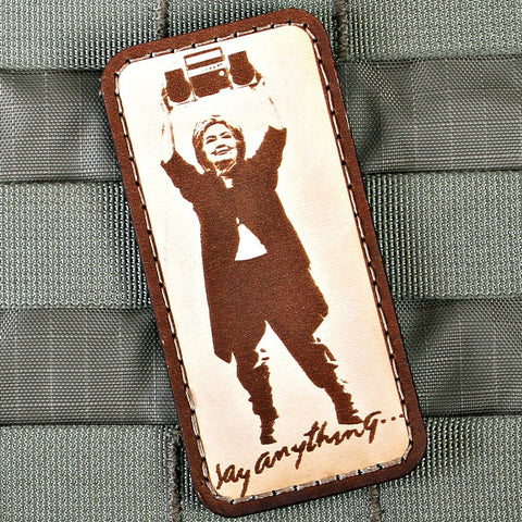 """Say Anything"" Morale Patch"