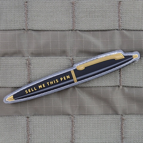 """Sell Me This Pen"" Morale Patch + Free Pen"