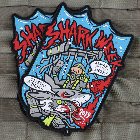 Shark Week 2019 Morale Patch