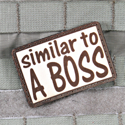 Similar To A Boss Morale Patch
