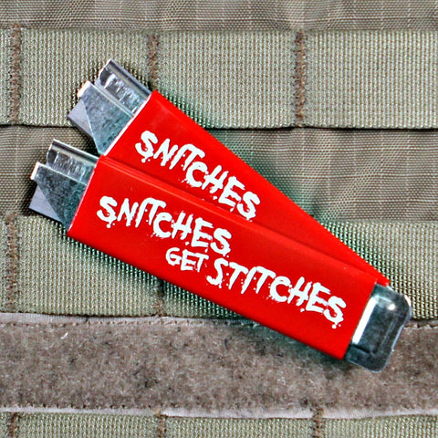 Snitches Get Stitches Box Cutter