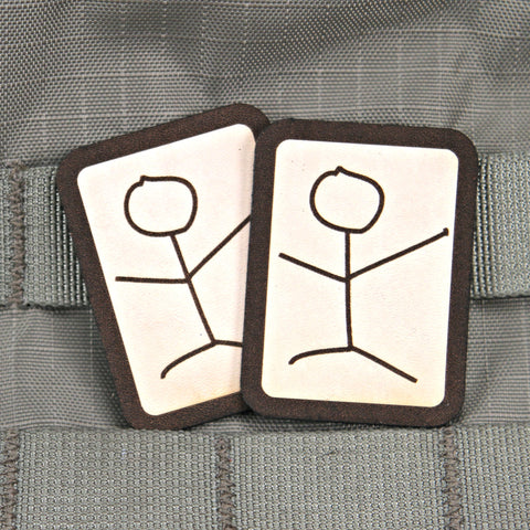 Stick Figure Morale Patch