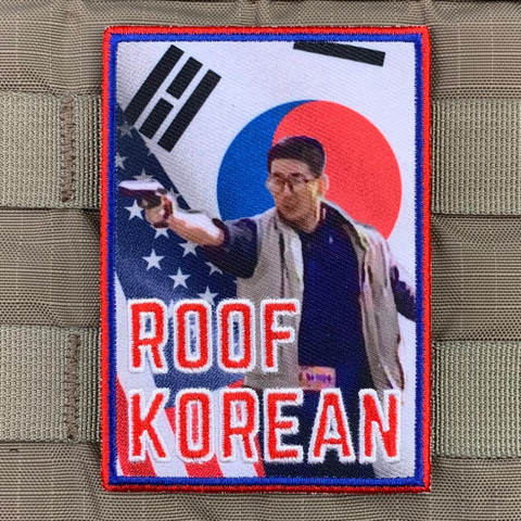 """Roof Korean 2.0"" Patch"