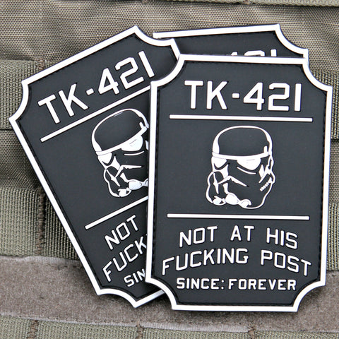TK-421 Star Wars Morale Patch
