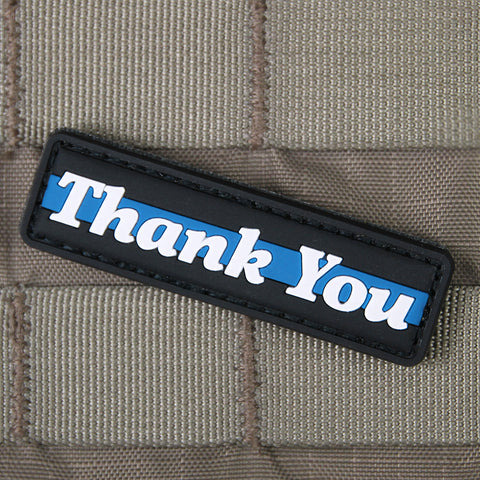 """Thank You Thin Blue Line"" Morale Patch"