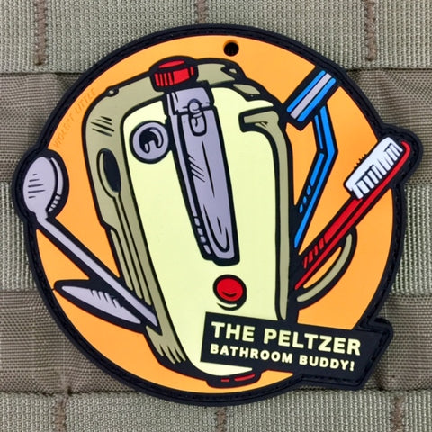 "The Peltzer ""Bathroom Buddy"" Gremlins Morale Patch"