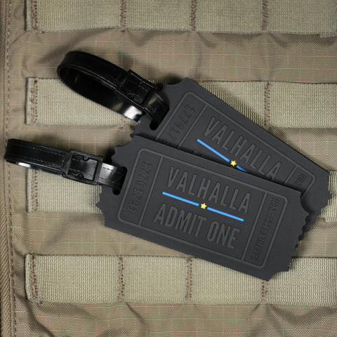 Valhalla Admit One Luggage Tags