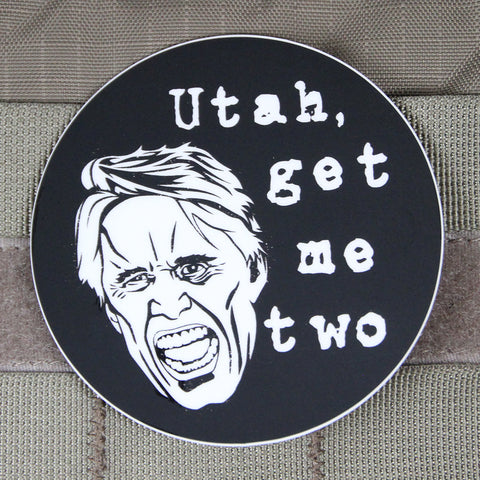 Utah, Get Me Two Busey Sticker