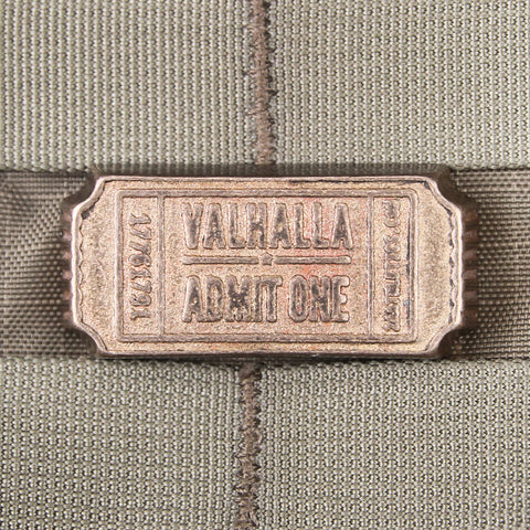 Valhalla Admit One Bronze Bar