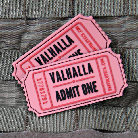 Valhalla Admit One Morale Patch