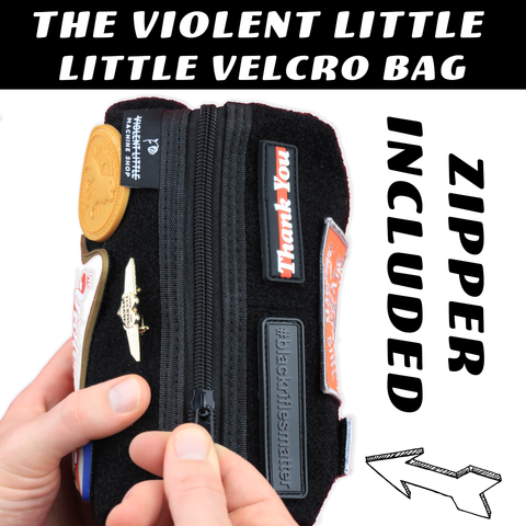 The Little Velcro Bag