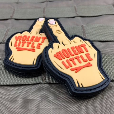 Middle Finger Morale Patch
