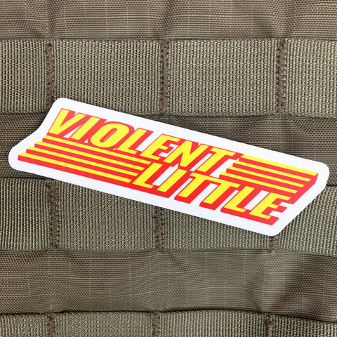 Violent Little Power Sticker
