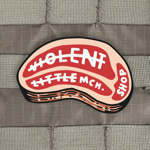 Violent Little Steak Sticker